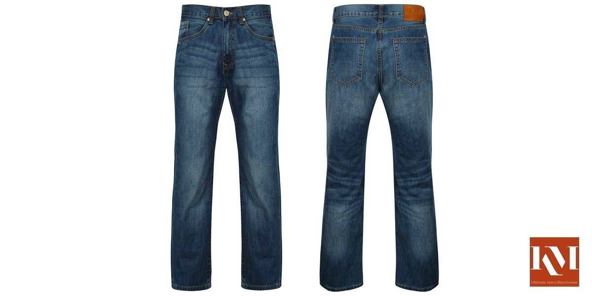 Men's Distressed Jean